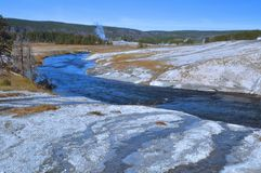 Firehole River - Yellowstone Royalty Free Stock Photo