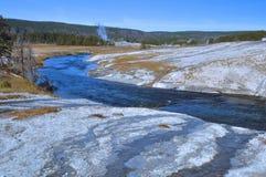 Firehole River - Yellowstone Royalty Free Stock Photo