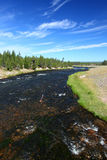 Firehole River of Yellowstone Stock Photography
