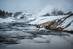 Firehole river, Yellowstone Royalty Free Stock Images