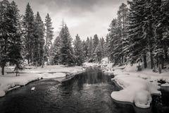 Firehole river, Yellowstone stock photography