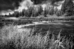 Firehole River, Yellowstone National Park Royalty Free Stock Photography