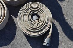 Firehose circle Royalty Free Stock Image