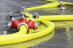 Firehose Stock Photo