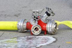 Firehose Royalty Free Stock Photography