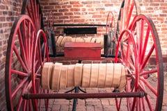 Firehose vagnar på Harpersfärjan royaltyfria bilder