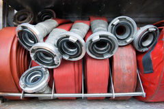 Firehoses Royalty Free Stock Photography