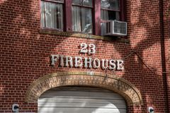 Firehouse in New Orleans stock fotografie