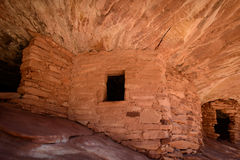 Firehouse-Ruine in Canyonlands Lizenzfreie Stockfotografie