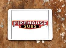 Firehouse Subs het embleem van het snel voedselrestaurant stock fotografie