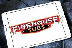 Firehouse Subs het embleem van het snel voedselrestaurant royalty-vrije stock foto's