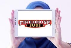 Firehouse Subs het embleem van het snel voedselrestaurant royalty-vrije stock fotografie