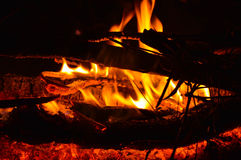 firelight Στοκ εικόνες με δικαίωμα ελεύθερης χρήσης