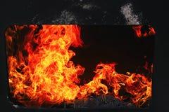 Firelight Stock Image