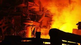 Firelight na wybuchu pu zbiory wideo