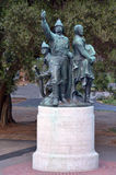 Firemanï ¿在华盛顿广场旧金山加州的½ s纪念品 免版税库存照片