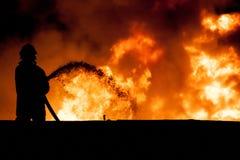 fireman стоковая фотография rf