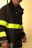 Fireman. Uniform Royalty Free Stock Photo