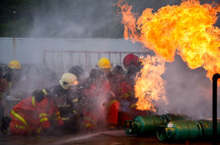 fireman immagine stock