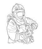 fireman Стоковые Фото