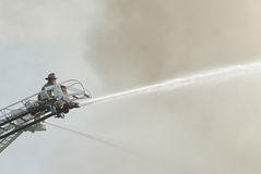 Fireman on Duty Royalty Free Stock Images
