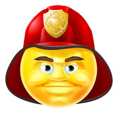 Fireman Emoji Emoticon Royalty Free Stock Photography