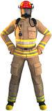 Fireman, Firefighter, First Responder, Isolated Stock Photography