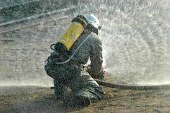 Fireman. Stock Photos