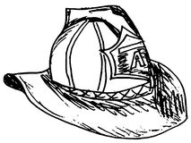 Fireman helmet Royalty Free Stock Image
