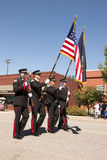 Fireman honor guard. Stock Image