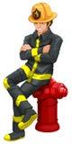 A fireman Stock Photos