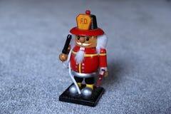 Fireman Nutcracker stock photography