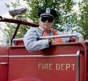 Fireman officer Royalty Free Stock Photos