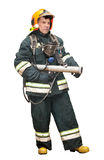The fireman in regimentals Stock Photos