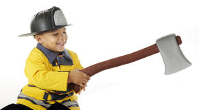 Fireman's Hatchet Stock Photography