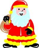 Fireman Santa Royalty Free Stock Photo