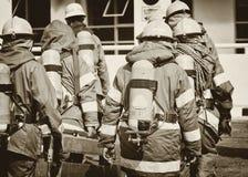 Fireman team Stock Photos