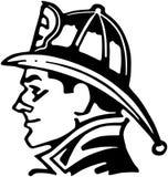 FiremanIcon.jpg Stock Photos
