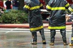 Firemen stock image