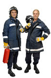 Firemen Royalty Free Stock Photo