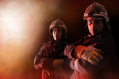 Firemen Royalty Free Stock Photos