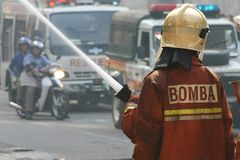 Firemen Stock Images