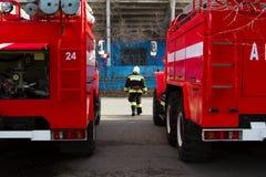 firemen Imagem de Stock Royalty Free