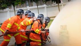 firemen Immagini Stock