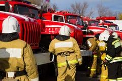 Firemen Royalty Free Stock Images