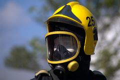 Firemen helmet Royalty Free Stock Photography
