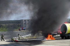 Firemens Stock Photo