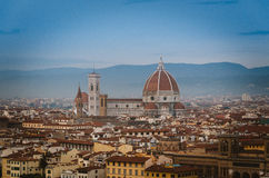 Firenze сверху Стоковые Фото