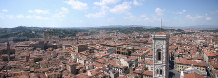 Firenze. Panorama of Firenze from one of the oldest building Royalty Free Stock Photo
