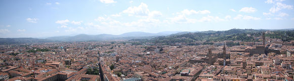 Firenze 2. Panorama of Firenze from one of the oldest building Stock Image